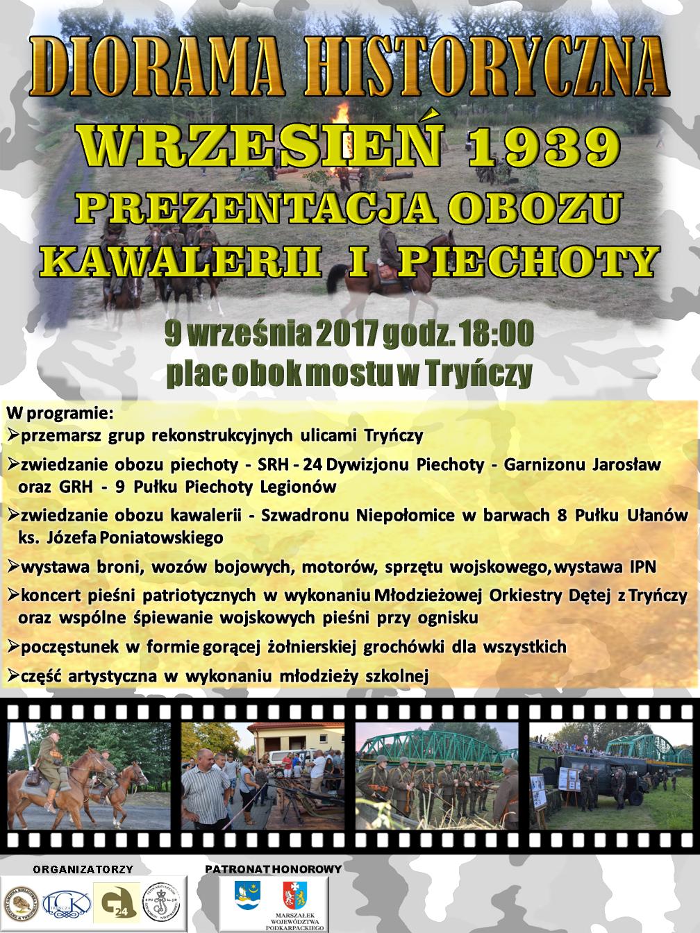 DIORAMA HISTORYCZNA W TRYŃCZY